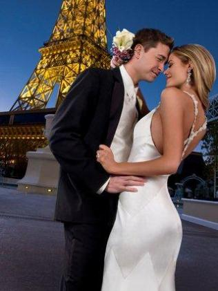 Copyright Paris Las Vegas Wedding Exterior