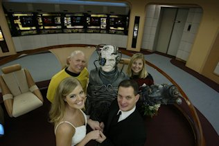 Copyright C Star Trek Wedding Chapel