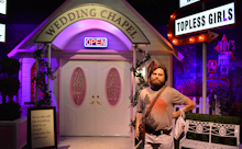 Madame Tussauds Hangover Wedding Chapel