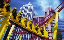 New York New York Rollercoaster, © New York New York